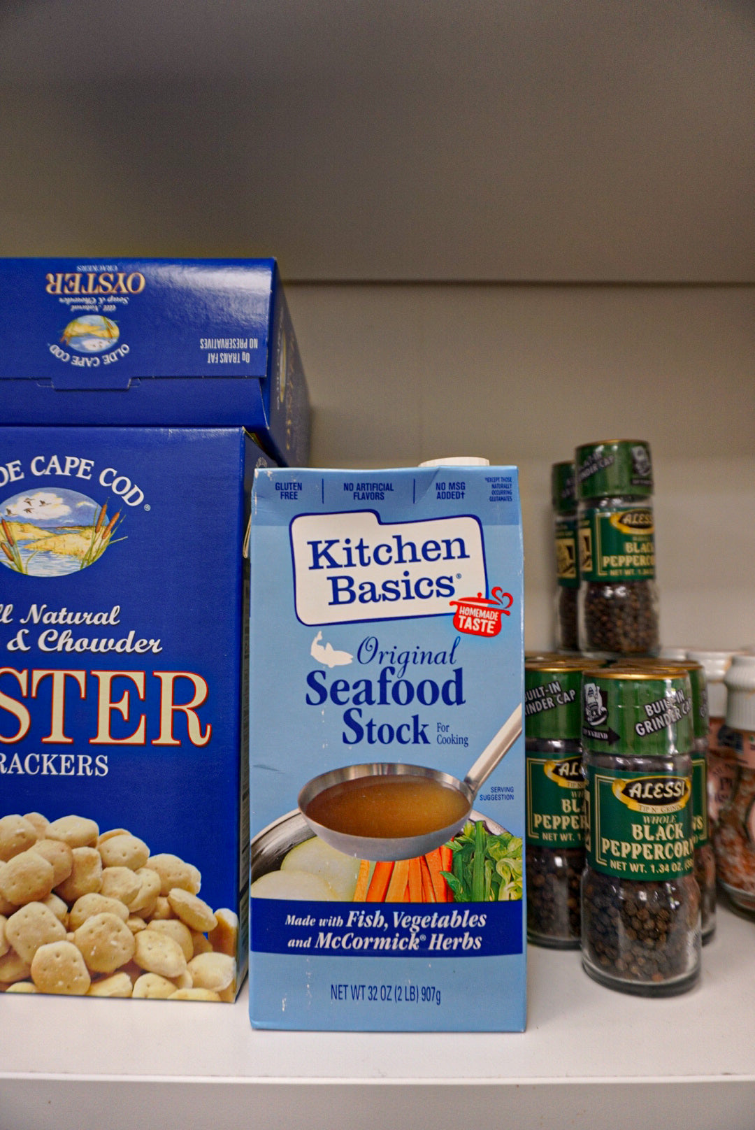 Kitchen Basics Seafood Stock 32 oz. - Delivery