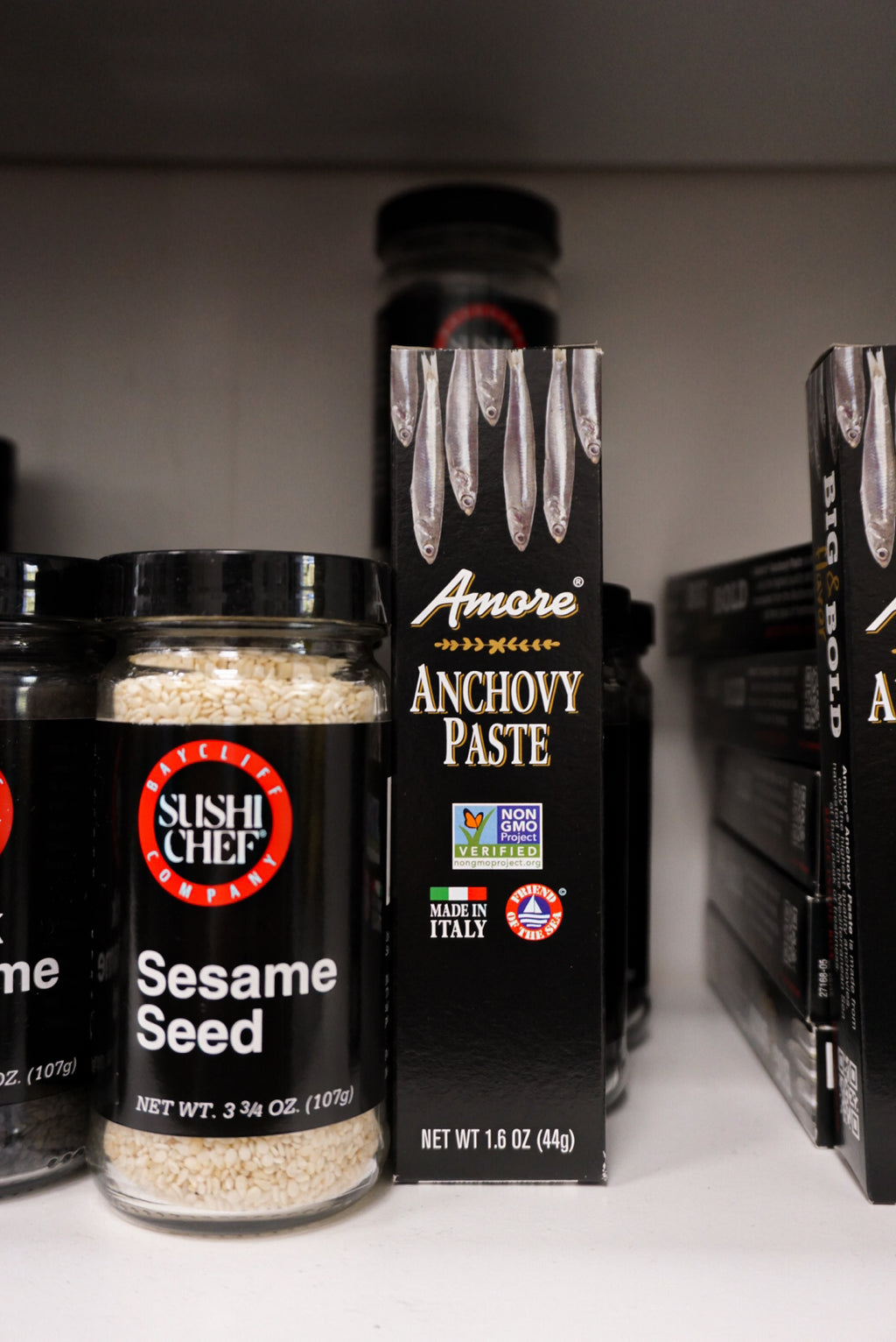 Amore Anchovy Paste 1.58 oz Tube - New Canaan