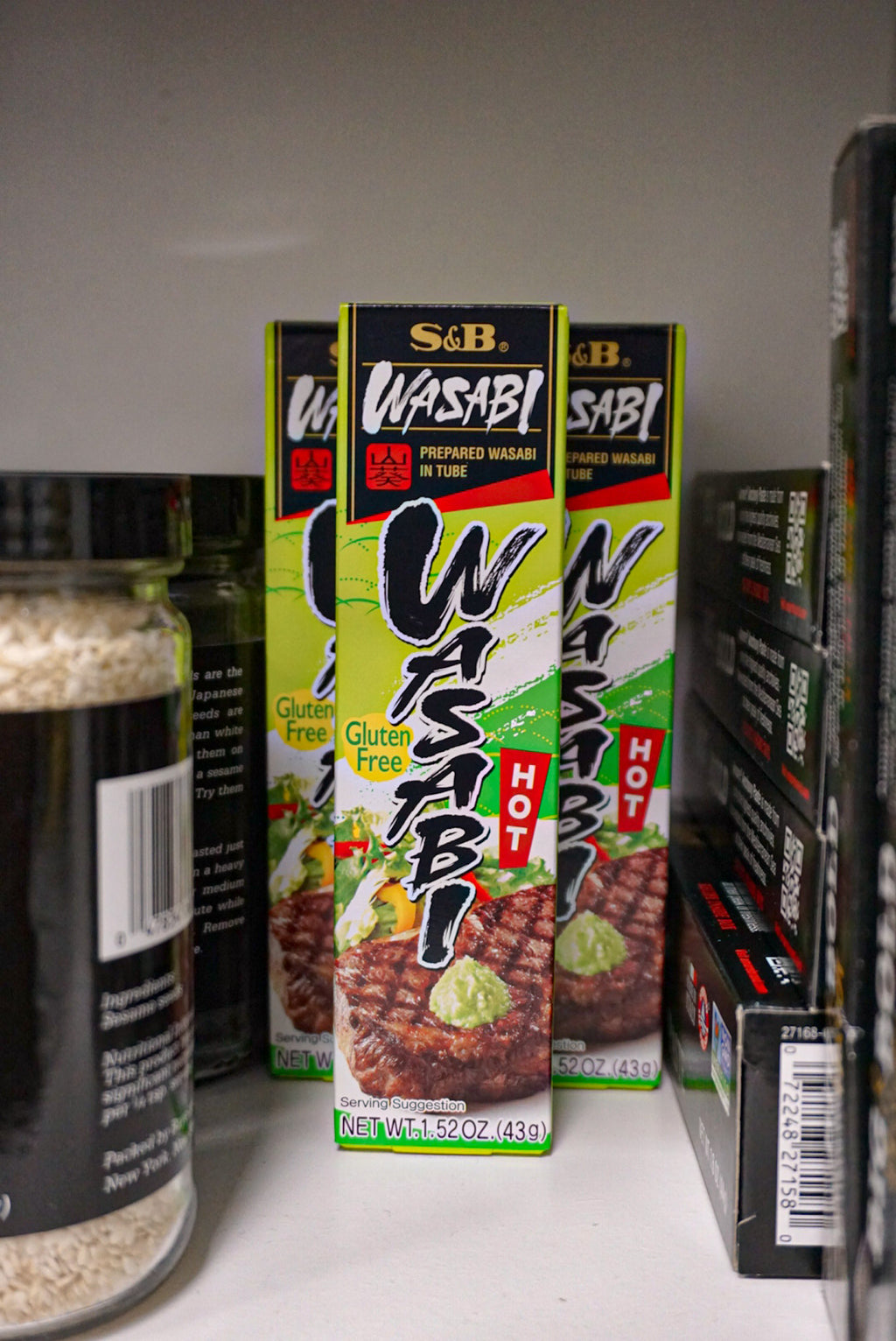 S&B Neri Wasabi Paste 1.52 oz Box