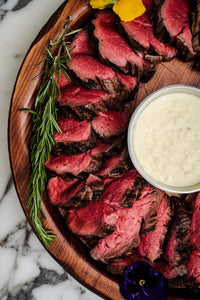 Sliced Beef Tenderloin Platter