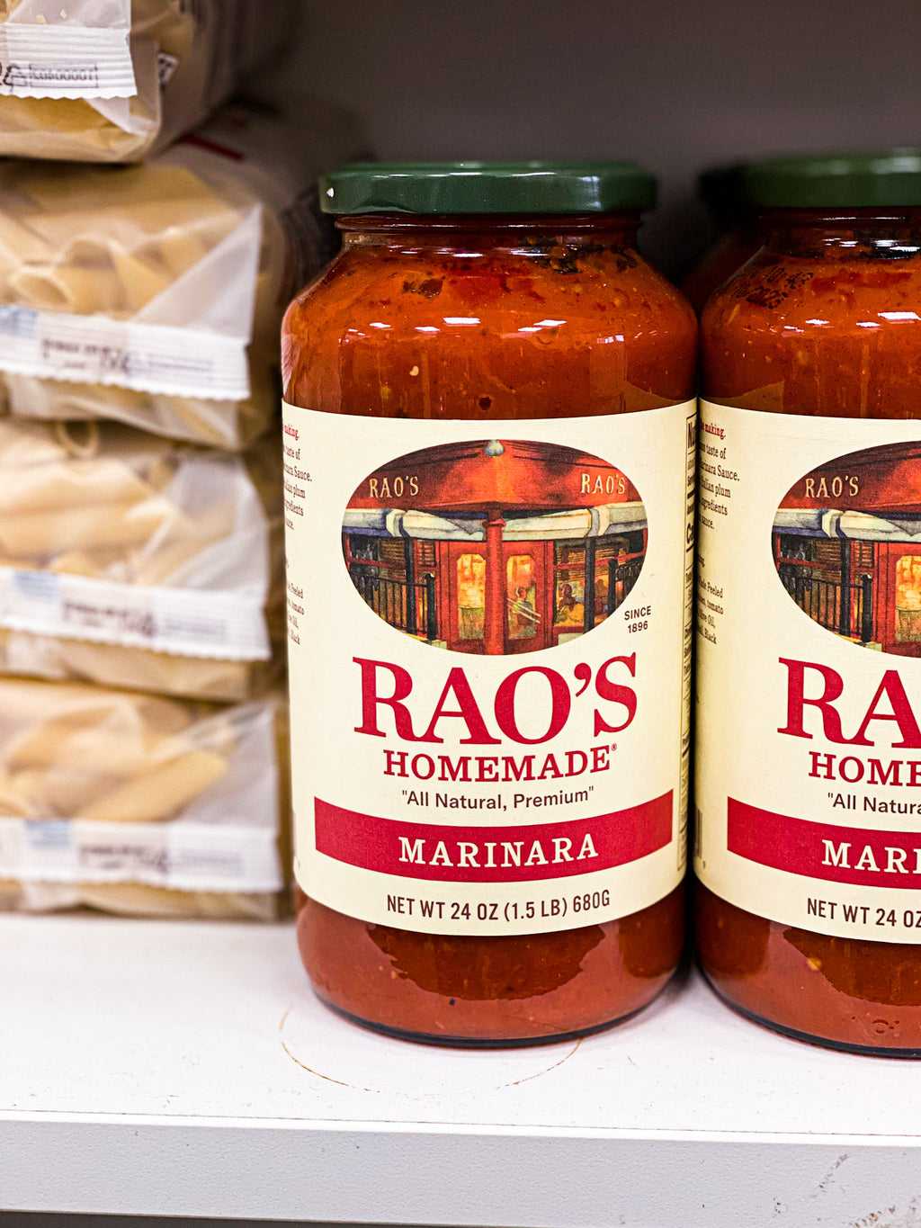 Rao's packaged 24 ounce marinara sauce