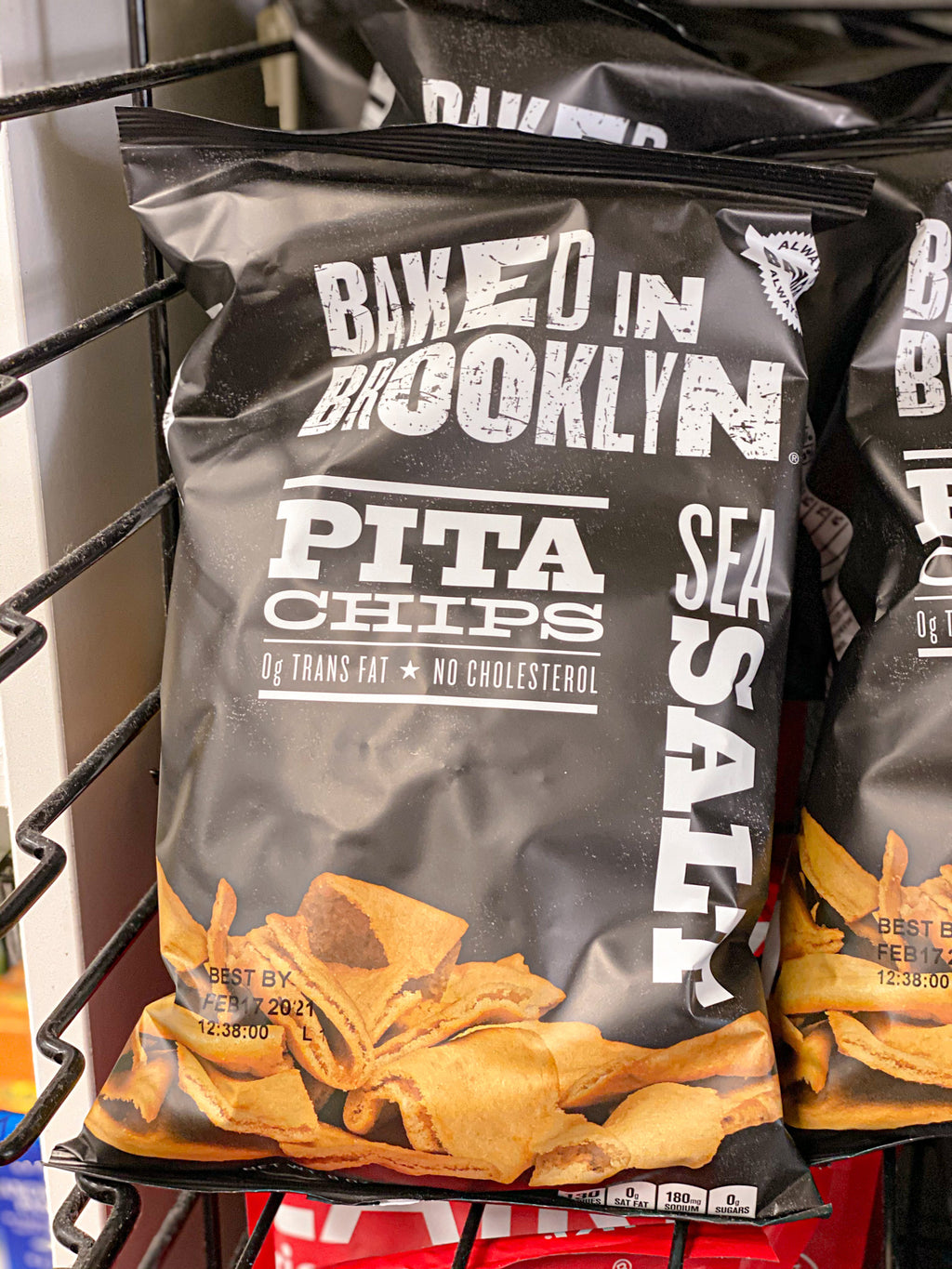 Baked in Brooklyn Pita Chips - Darien