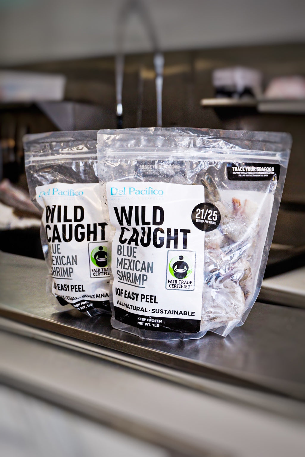Wild-Caught Blue Mexican Shrimp - Westport (1 lb bag)