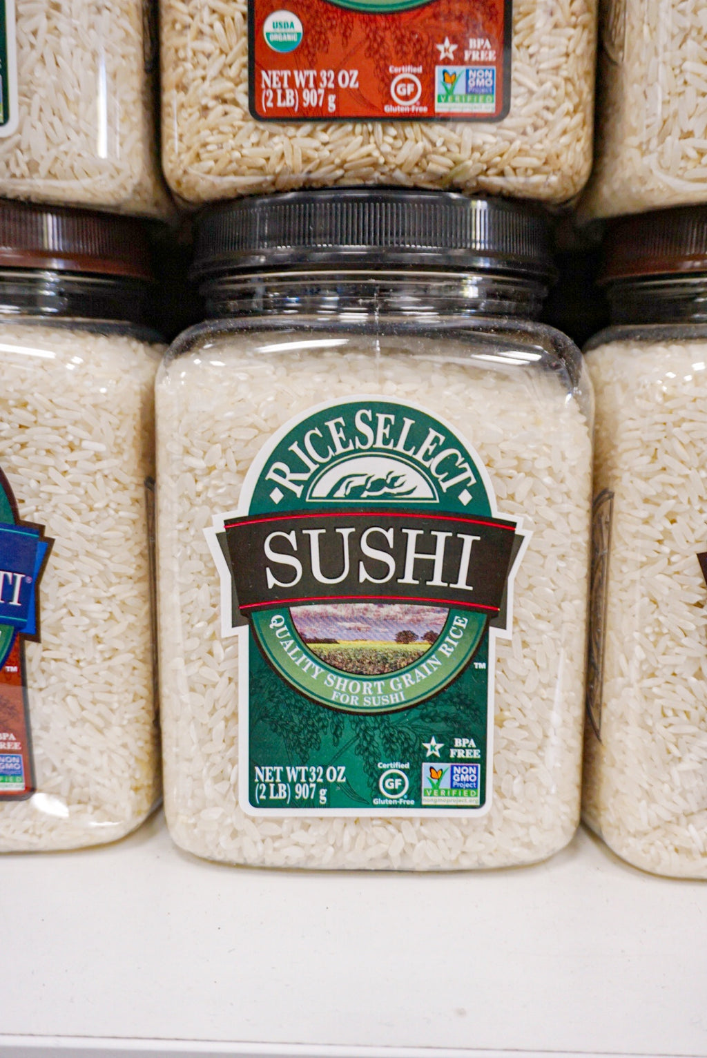 Texmati Sushi Rice 32 oz Jar - Westport