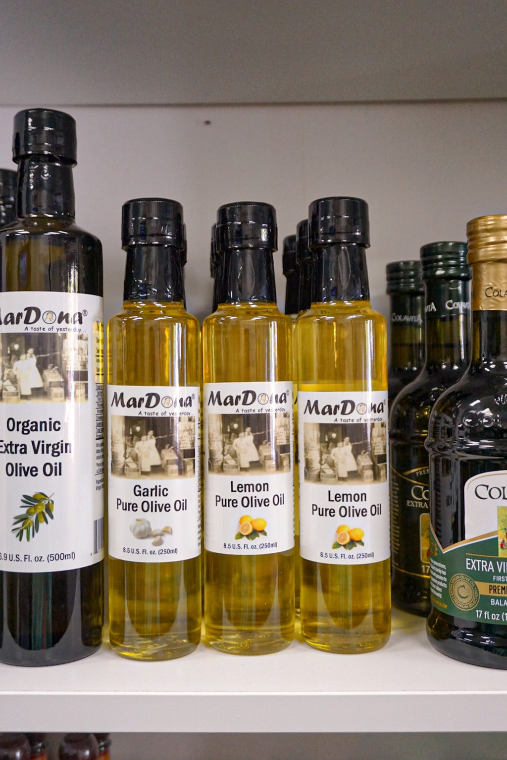 Mardona Garlic Olive Oil - Westport