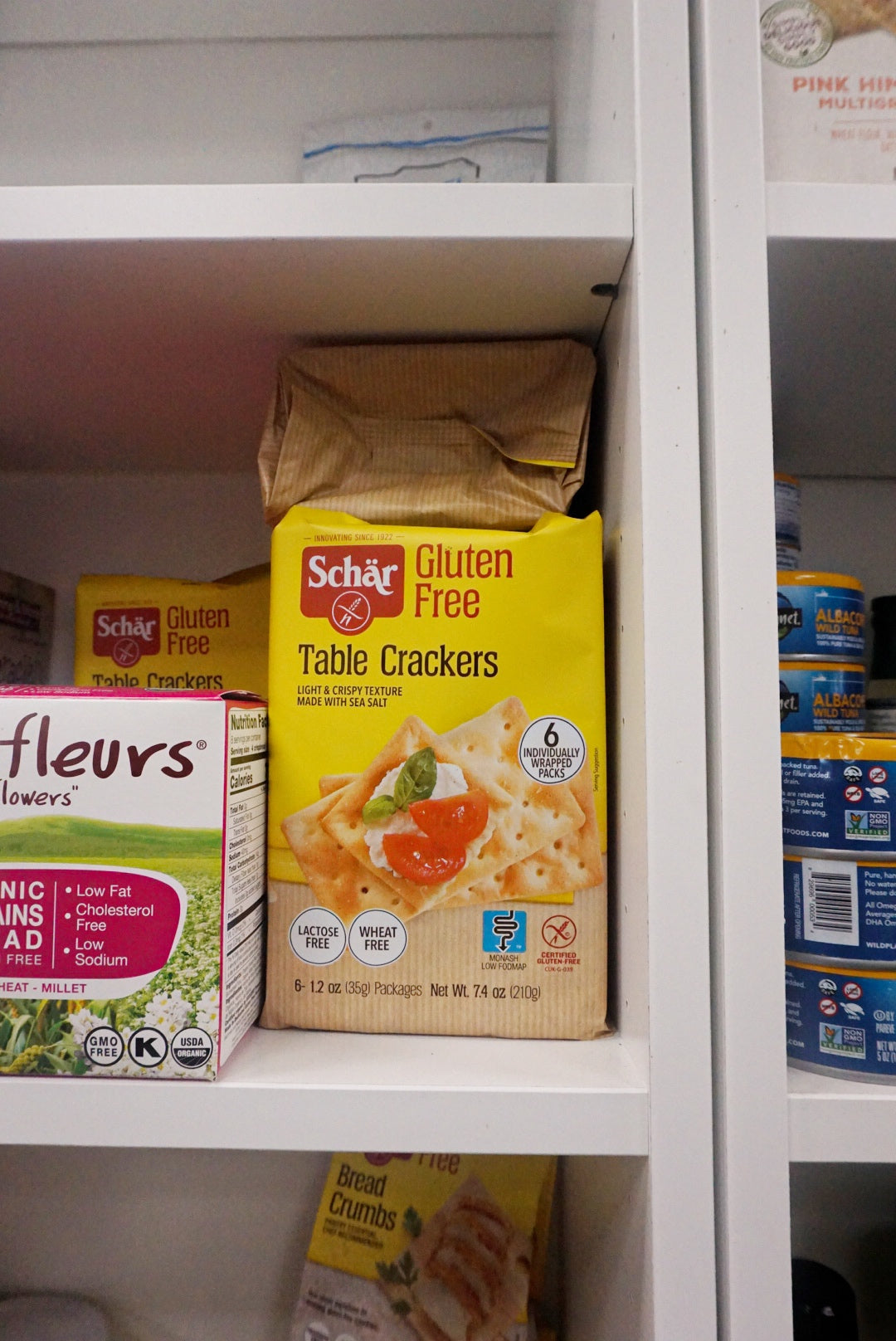 Schar Gluten Free Table Crackers 7.4 oz - Larchmont