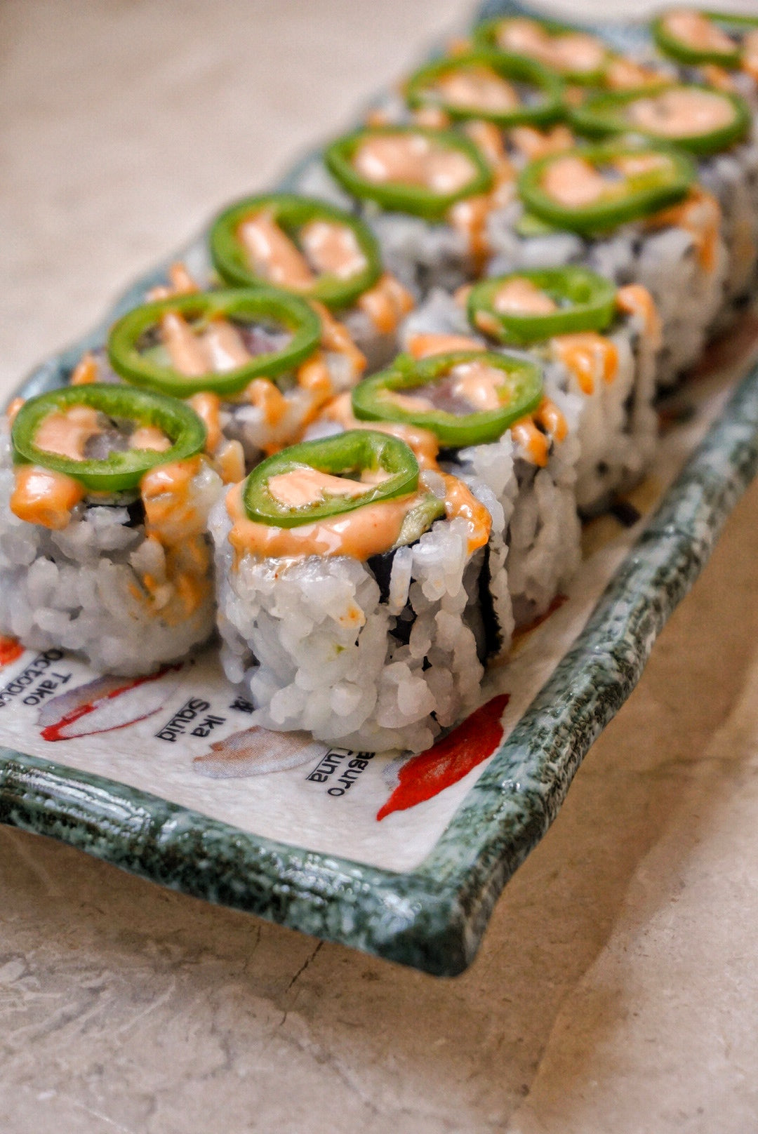 Spicy Yellowtail Roll - Darien