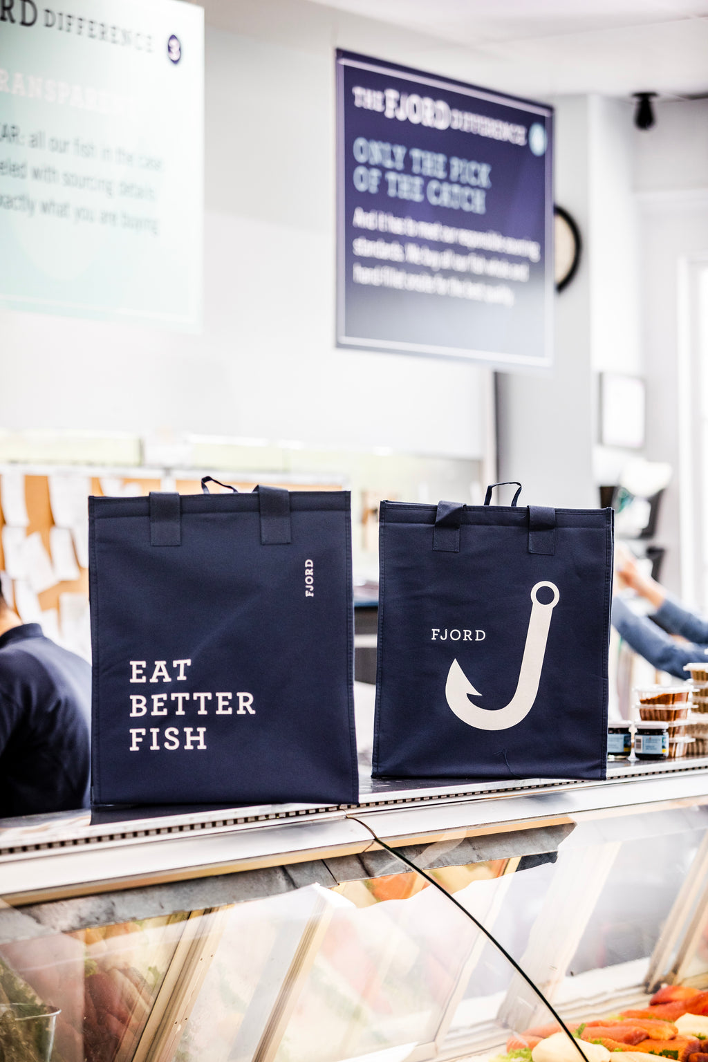 Fjord Insulated Tote Bags - Larchmont