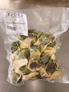 Roasted Brussel Sprouts (Freshly Frozen)