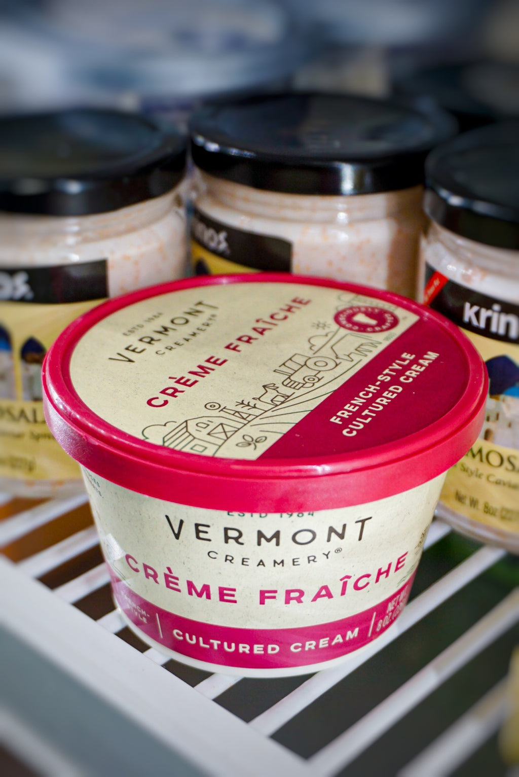 Vermont Creamery Creme Fraiche (French-Style Cultured Cream)