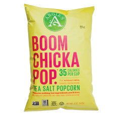 Angie's Boomchickapop Sea Salt Popcorn 4.8 oz Bag