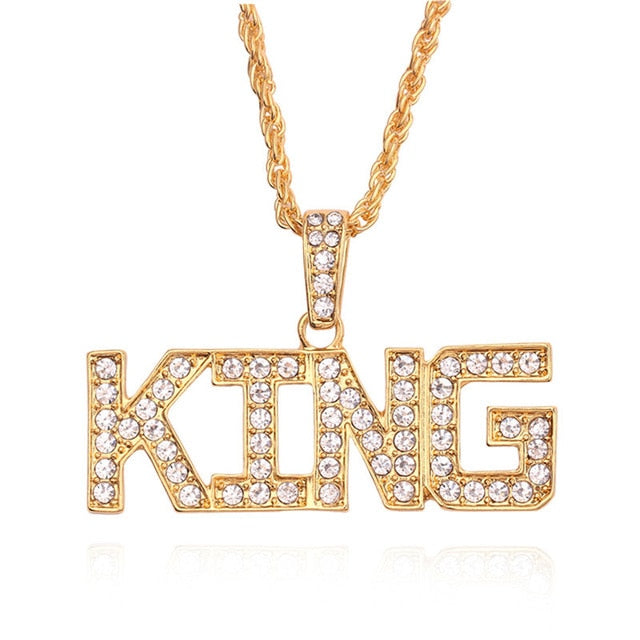 Gold 'King' Necklace