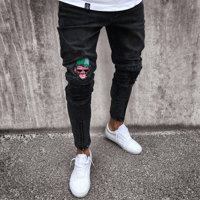 'Cool Chimp' Ripped Skinny Jeans