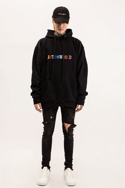 Embroidered 'Astroworld' Hoodie
