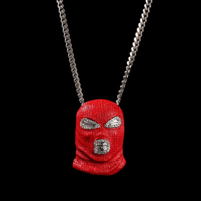 Red Mask Necklace