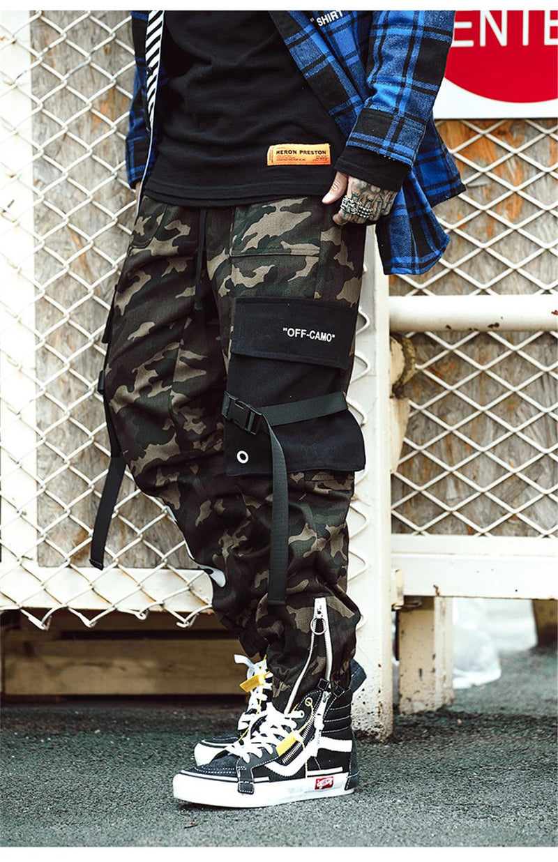 SS 'OFF-CAMO' Cargo Pants (2 Colours)
