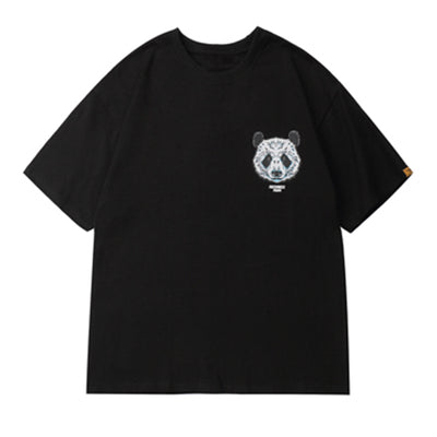 Freshniss Panda T-Shirt (Black/White)