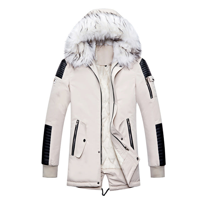 Fur Hood Winter Coat (4 colours)