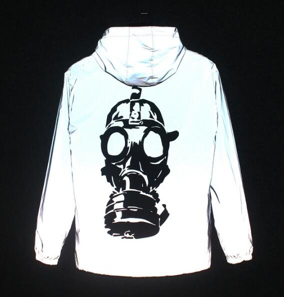 'Gas Mask' Reflective Jacket