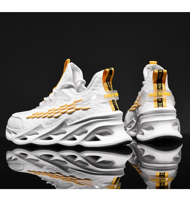 SCAR 'X9Scalez' V2 Sneakers - White
