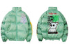 Shoes-Up 'Thug Life' Jacket (Green/Black)