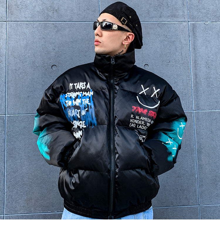 SS 'xSmiley' Jacket (Black/White)