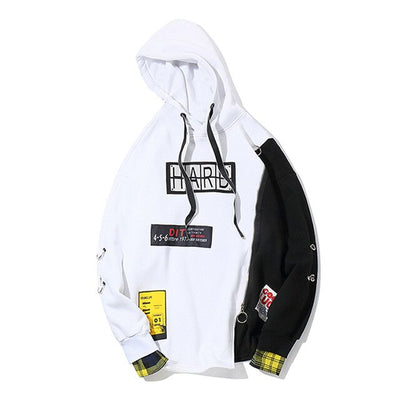 Young Life 'HARD' Hoodie (Black/White)