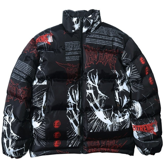 The Hang 'Made Extreme' Anime Jacket - Black