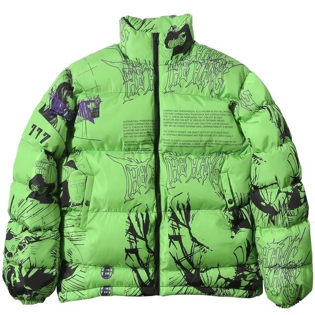 The Hang 'Made Extreme' Anime Jacket - Green