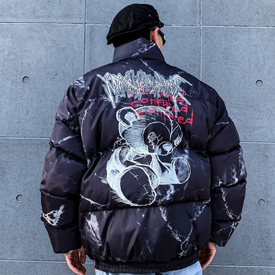 SS 'Confused' Jacket (White/Black)
