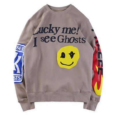 Lucky Me I SEE GHOSTS Sweatshirt