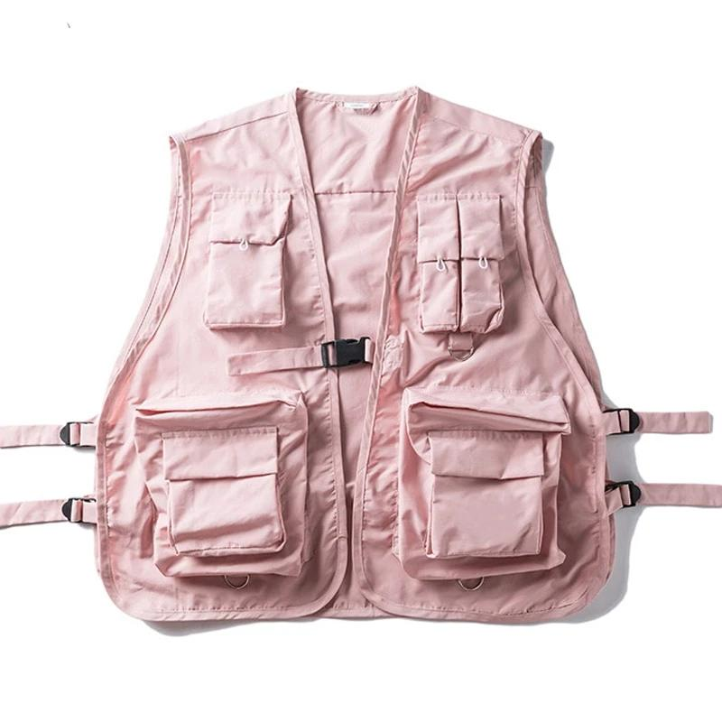 SS 'DARK ICON' VEST (Pink/Black)