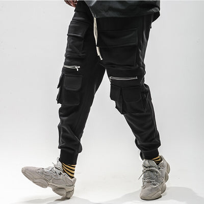 SS Multi Pocket Joggers with Zips