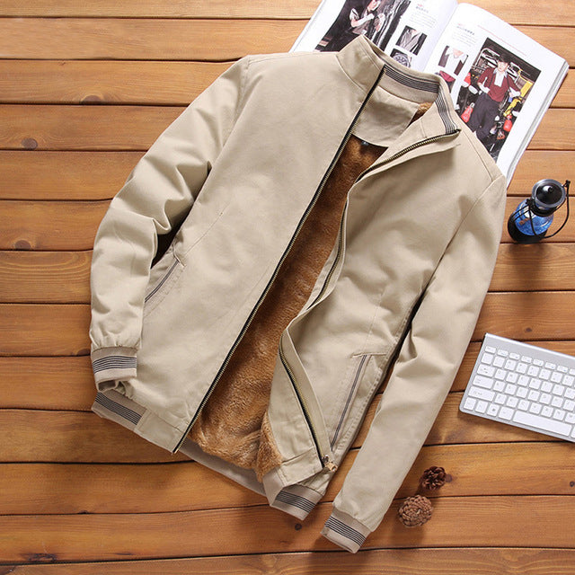 Casual Bomber Jacket (4 Colours)