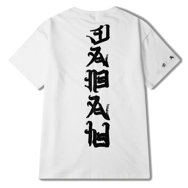 Evil Kanji T-Shirt (Black/White)