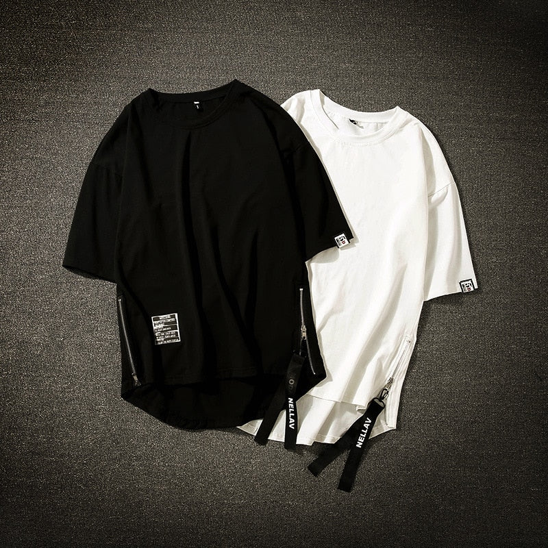 Basic Zip T-Shirt