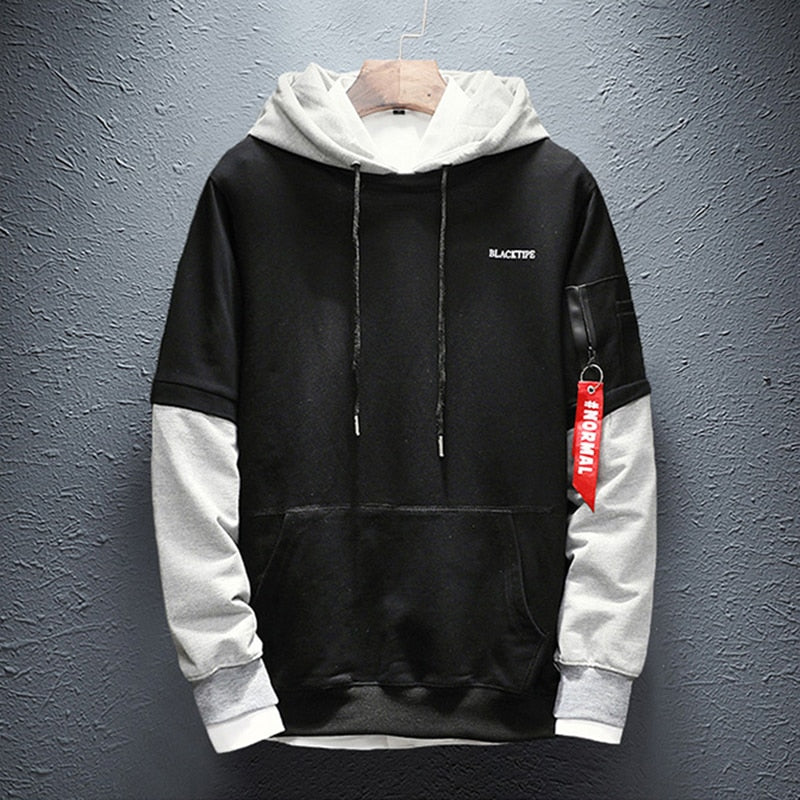 Patchwork 'HYPE' Hoodie (4 Colours)