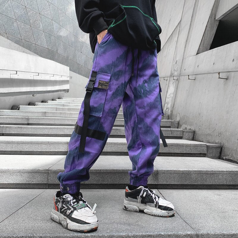 Autumn Wave Cargo Pants