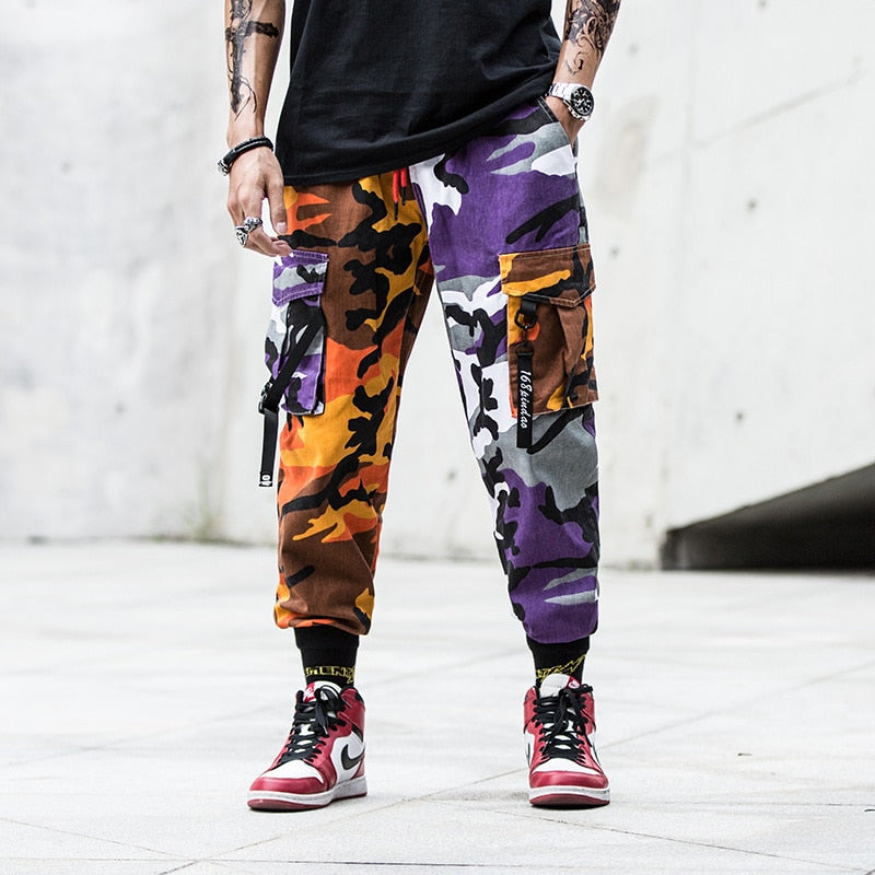 SS 'SplitxCamo' Cargo Pants (2 Colours)