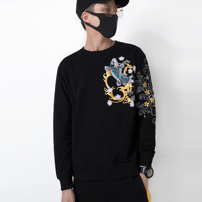 Koi Fish 'V' Sweatshirt