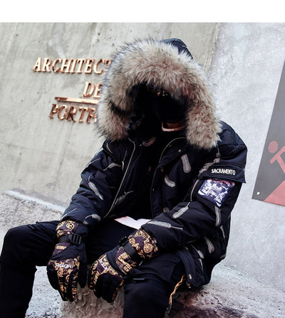 SS 'Feather' Bomber Jacket with Fur