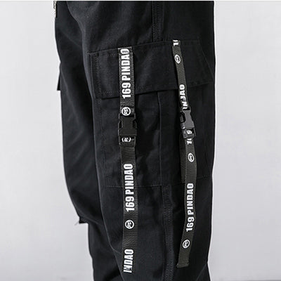 'Strap-up' Cargo Pants