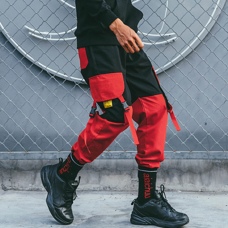 'Red Ranger' Cargo Pants