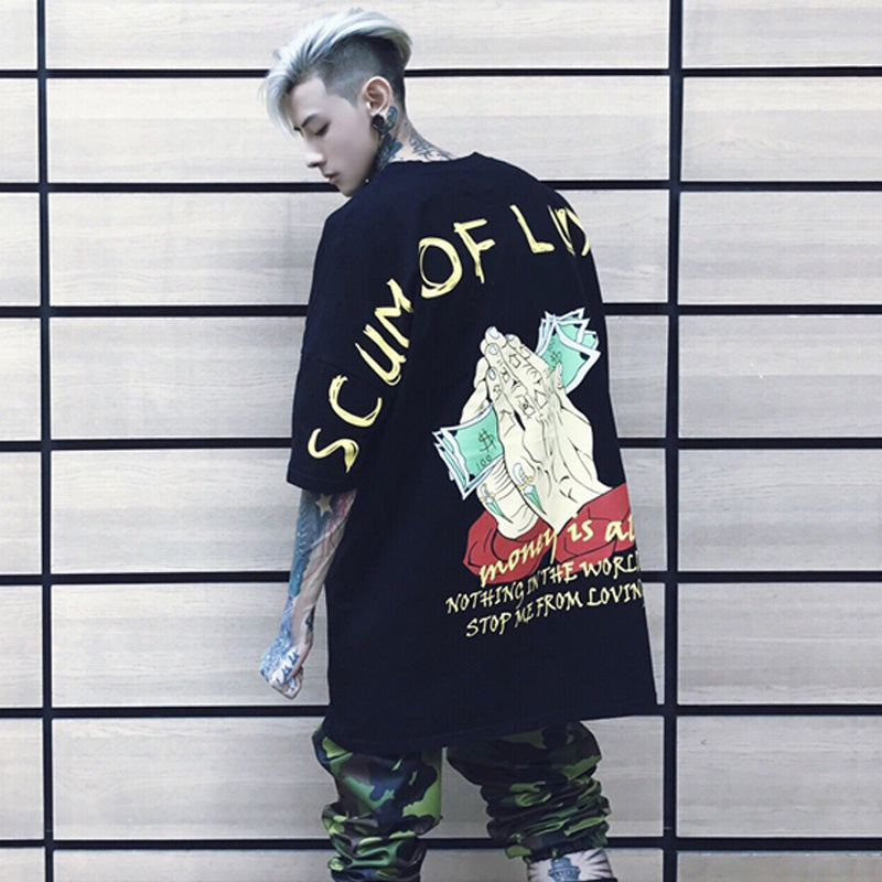 SCUM OF LUXURY Oversized T-Shirt