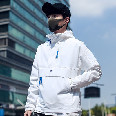 SS 'Tide' Jacket (Black/White)