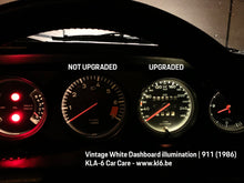 Load image into Gallery viewer, 8 bulbs Dashboard Gauge Illumination - LED conversion Classic Porsche 911 / 914