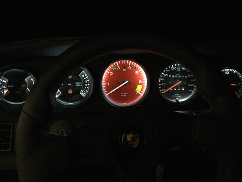 8 + 2 bulbs Dashboard Gauge Illumination - LED conversion Classic Porsche 911