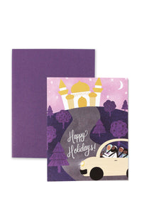 Holiday Drive Greeting Card for Ramadan/ Eid by Hello Holy Days!