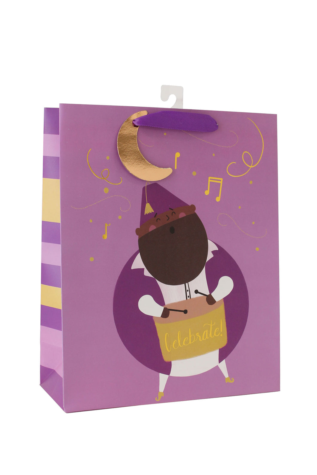 Gift bag for Ramadan & Eid al Fitr featuring the Ramadan Drummer by Hello Holy Days!