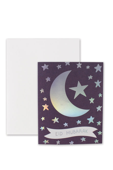 Crescent Star Eid Card by Hello Holy Days!